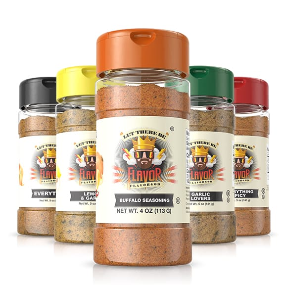 5 Bottle - Classic Combo Pack +Buffalo Seasoning