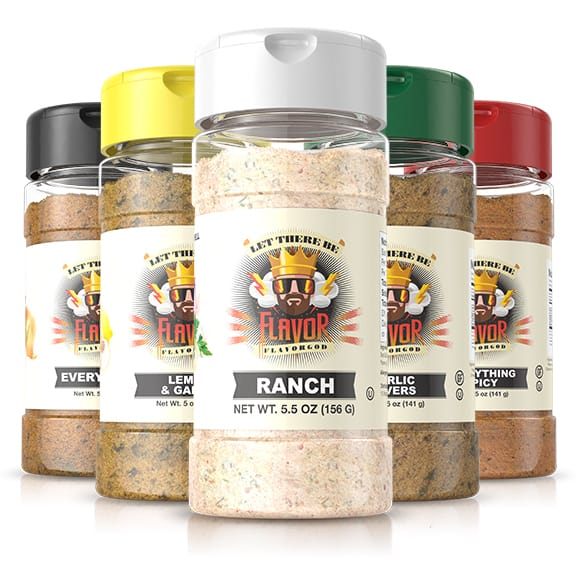 5 Bottle - Classic Combo Pack + Ranch