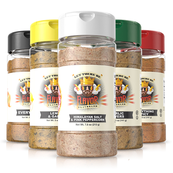 5 Bottle - Classic Combo Pack + Himalayan Salt Pepper