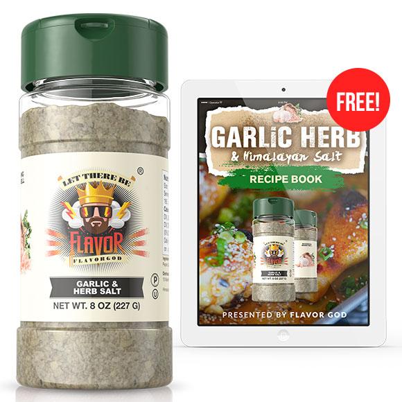 Garlic Herb & Himalayan Salt Seasoning