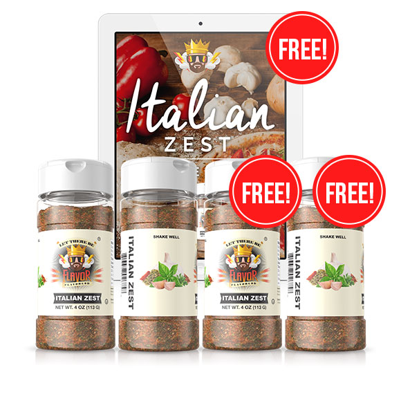 Italian Zest 4 Bottle Pack