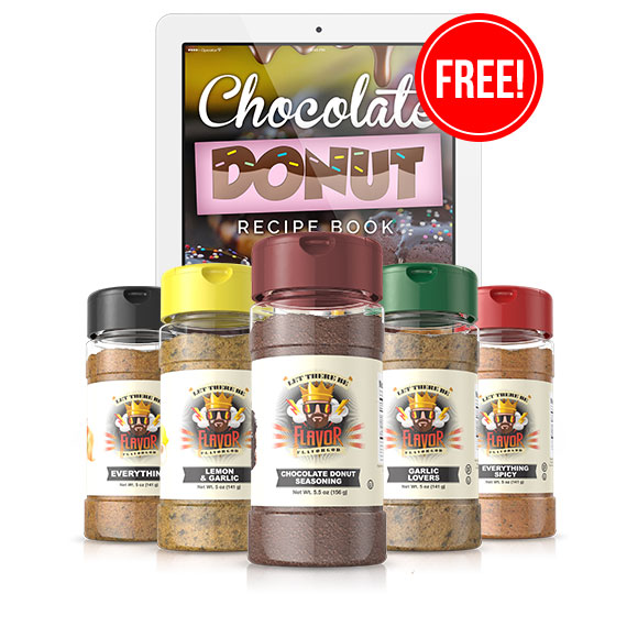 5 Bottle - Classic Combo Pack + Chocolate Seasoning