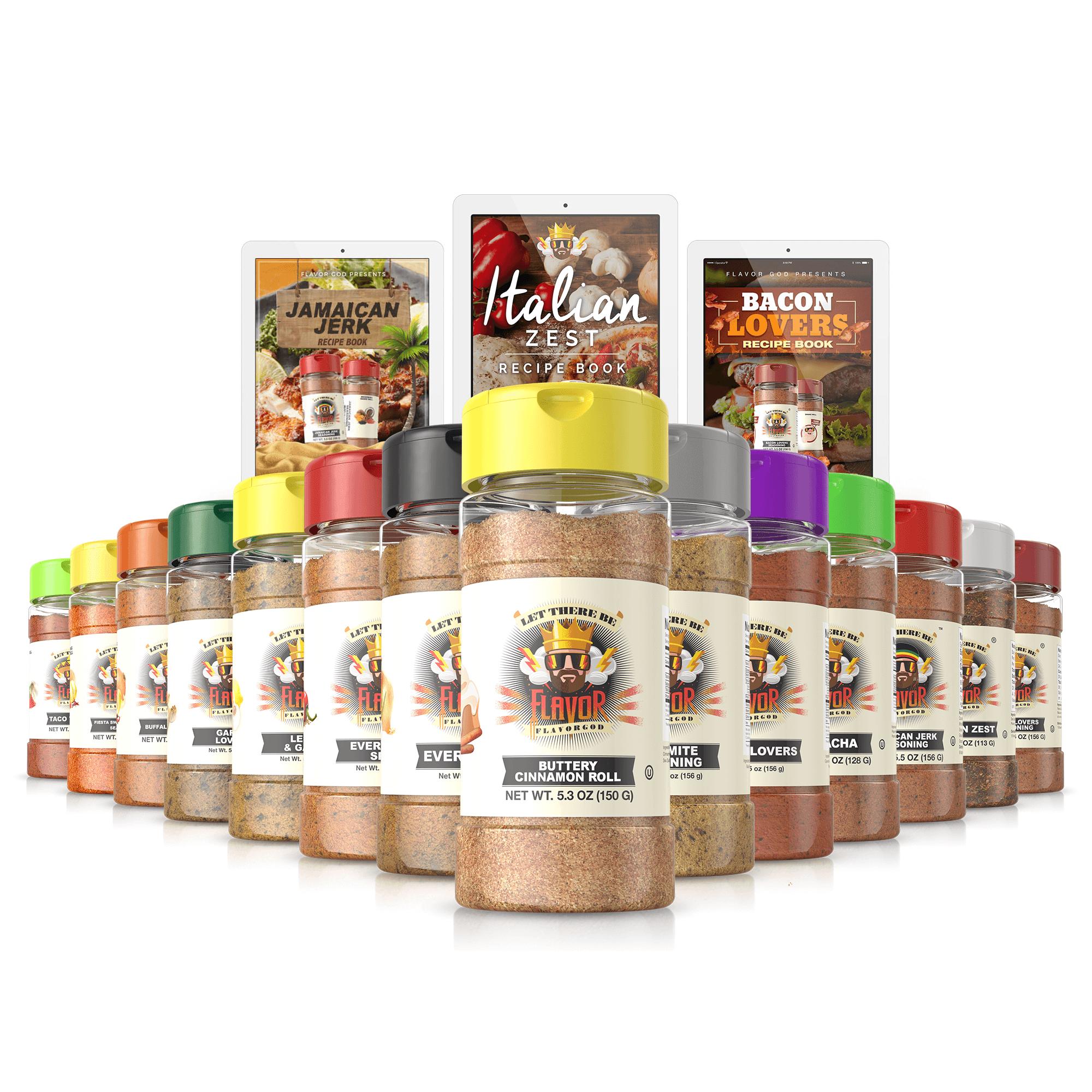 Chef Spice Rack