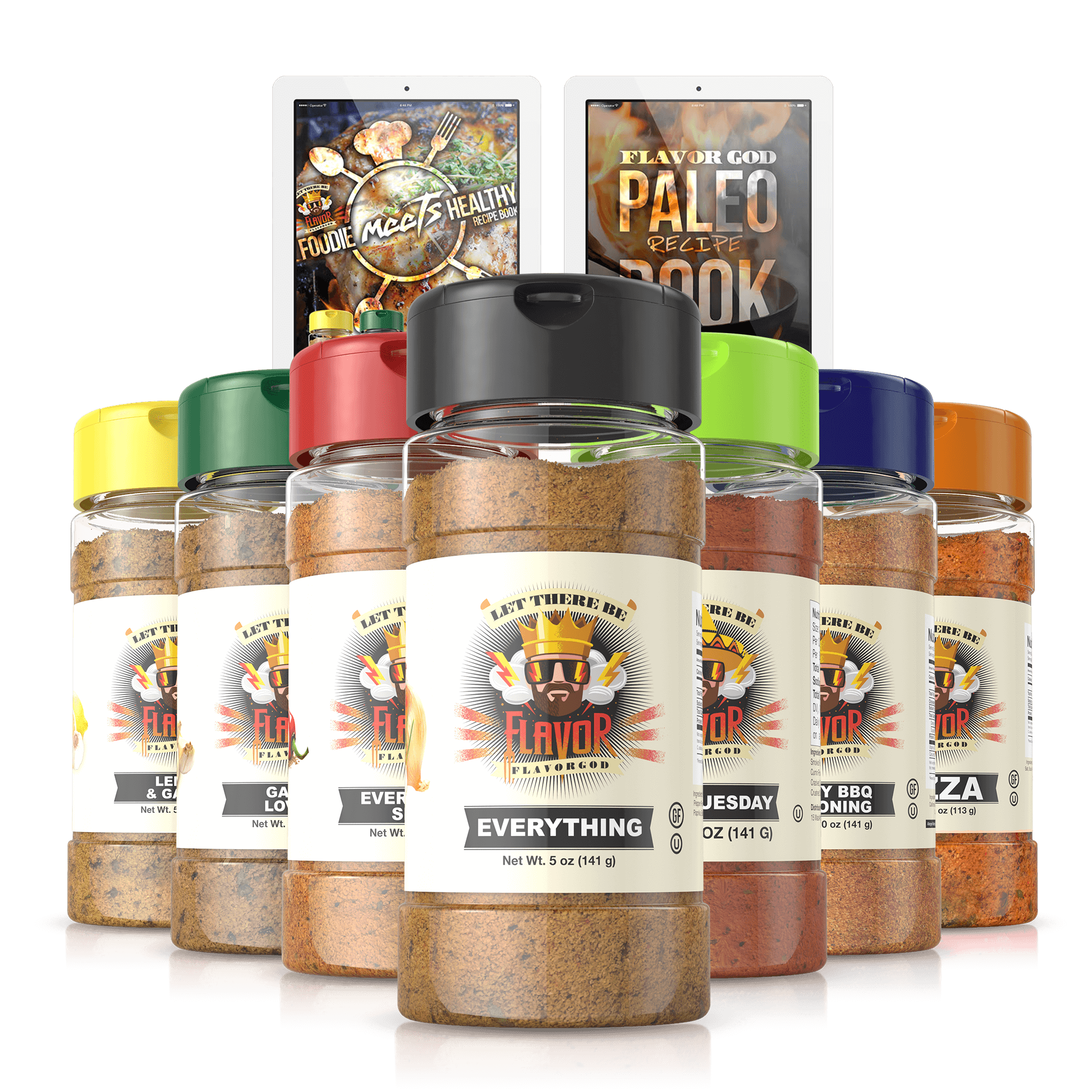 FLAVOR GOD | Home of FRESH & Healthy Seasonings