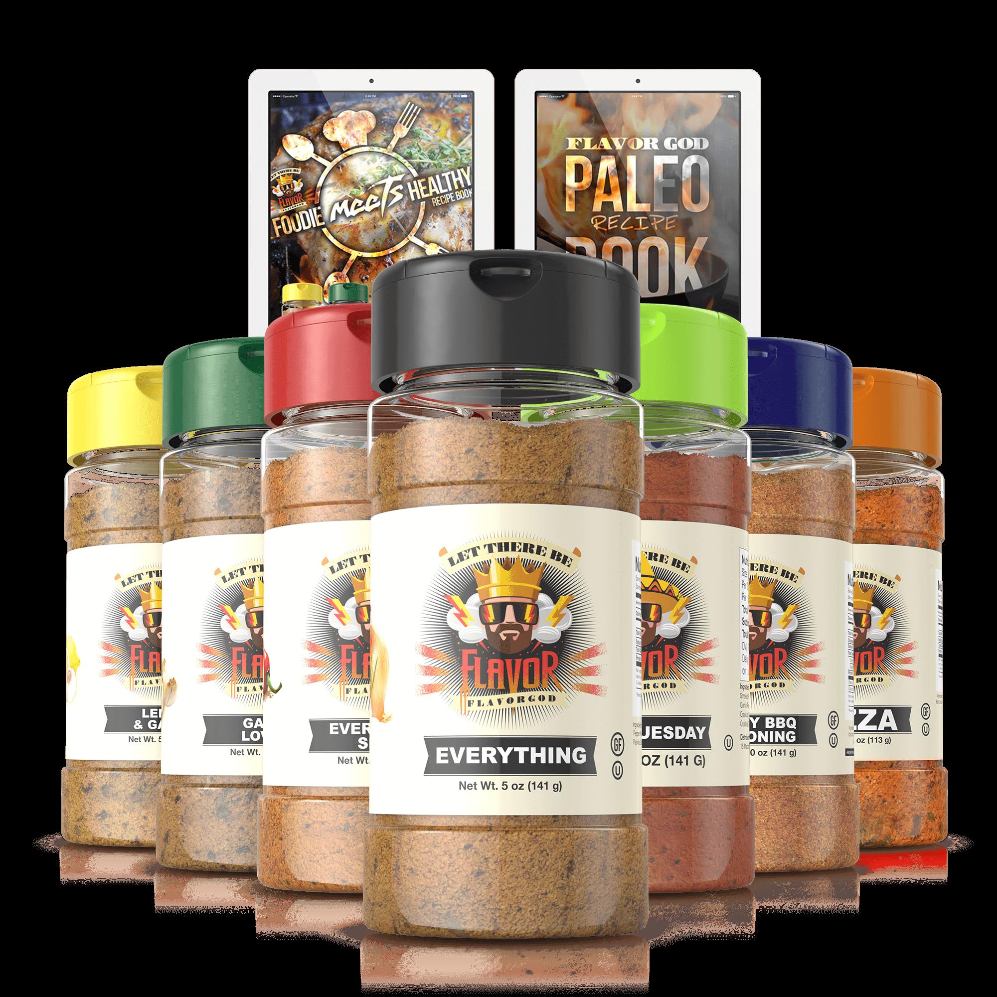 Startup Chef Spice Rack
