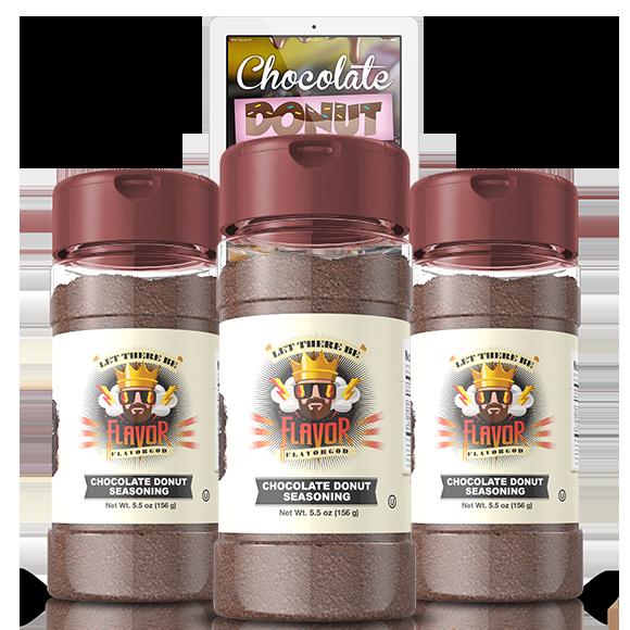 Chocolate Donut (3 Pack)